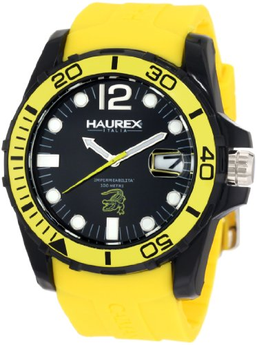 Haurex Italy Men's Watch XL Analogue Rubber N1354UNY Caimano