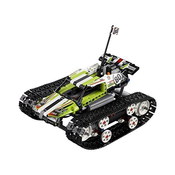 LEGO- Technic Cars Racer Cingolato Telecomandato Costruzioni Piccole Gioco Bambina, Multicolore, 42065 2 spesavip