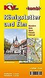 Königslutter und Elm,  Wandern, Auto, Sport, Freizeit, Fahrrad (KVplan-Kombi-Reihe)