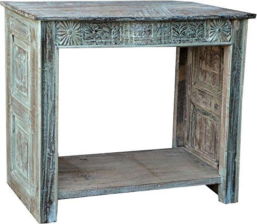 Guru-Shop Enfilade, Table de Salle, Teck, 85x110x40 cm, Commodes