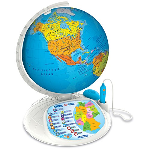 #0618 Interaktiver Entdecker Globus Weltkugel inklusive Stift und App-Funktion 32cm • Weltentdecker Kinder Spiel Interaktiv Spielglobus