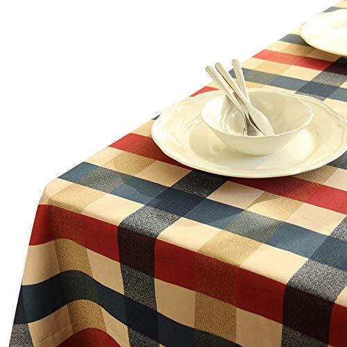 Seepong Mantel 100% Mantel algodón manteles