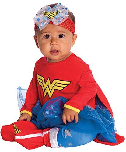 Wonder Woman Kostüm Freunde DC Super (Wonder Rot Kleinkind Kostüme)
