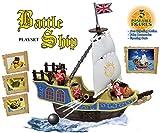 Vinsani Children Kids Pirate Battle Ship Treasure Island Toy Playset