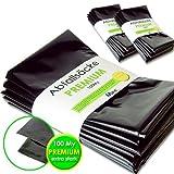 MGS SHOP Müllbeutel 120 L Premium 100 My extra stark & reißfest Abfallsäcke Müllsäcke BAU-& Gewerbe (30 Stück)