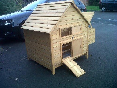 CHICKEN Haus für 6 Hennen. auch für Enten ! reizende Art und leicht zu reinigen ! Schnelle versand! - 4