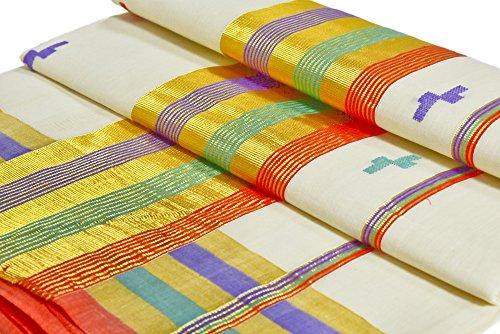 Original & 100 % Pure Kerala Handloom Set Saree
