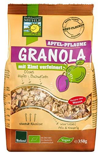 Bohlsener Mühle Bio Granola Apfel-Pflaume (6 x 350 gr) - Apfel-pflaume