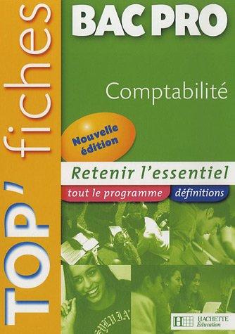Comptabilité Bac Pro par Alain Delos
