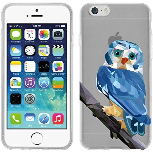 PhoneNatic Apple iPhone 6s / 6 Coque en Silicone animaux vecteur M3 Case iPhone 6s / 6 + films de protection Motif 1
