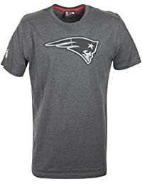 NEW ENGLAND PATRIOTS - NEW ERA TEE / T-SHIRT - NFL TWO TONE - GRAPHITE
