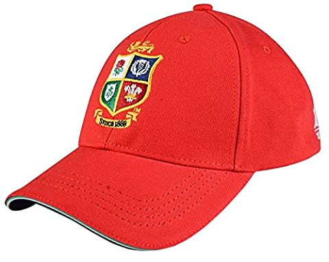 British & Irish Lions 2017 Cotton Drill Rugby Cap - Tango Red