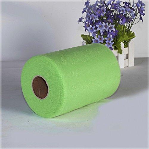 100-yards-6-inch-rouleau-de-tulle-decoration-pour-emballage-cadeau-mariage-artisanat-vert