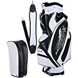 """ReaseJoy Waterproof 13 Golf Club Portable Carry Bag 5-Way Divider 8.15lbs 18""""x10""""x51"""""""