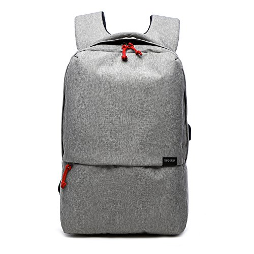 Leinwand Laptop-tasche (Valleycomfy Laptop Rucksack Damen/Herren (Passen 15.6