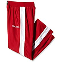Spalding - Pantaloni da uomo Teamsport Crunchtime Shooting, Blu, XXXXL