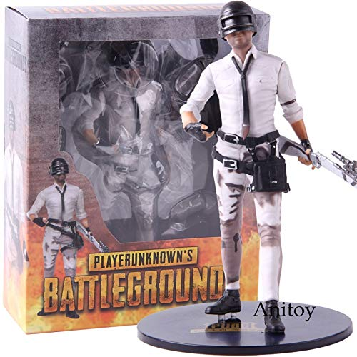 Hot Game Playerunknown's BattleGrounds PVC Playerunknowns Battlegrounds PUBG Figura de acción Juguete de colección Modelo