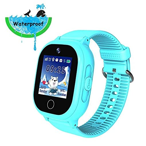 36fd85c56 9Tong Kids GPS Smart Watch Waterproof GSM SIM Card GPS Tracker SOS Call  Safety Fence Touch Screen Pedometer Smartwatch For Boys Girls Birthday Gift