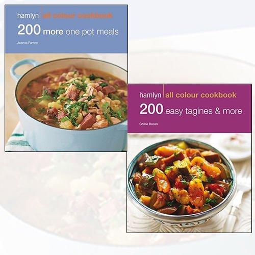 Joanna Farrow Collection 200 One Pot Meals 2 Books Bundle (200 More One Pot Meals: Hamlyn All Colour Cookbook,200 One Pot Meals: Hamlyn All Colour Cookbook: 200 One Pot Recipes)