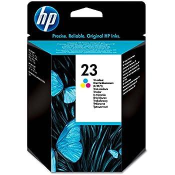 HP 23 Cartouche d'encre d'origine Cyan Magenta Jaune (C1823D)