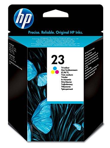 HP Original Druckerpatrone 23 (dreifarbig, XL 620 Seiten) C1823D