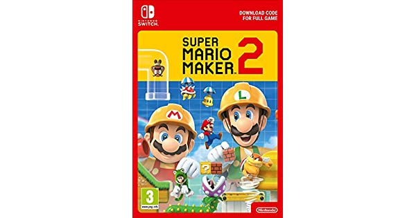 Super Mario Maker 2 | Switch Download Code: Amazon co uk: PC