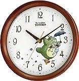 Rhythm Clock My Neighbor Totoro M27 8MGA27RH06 (japan import)