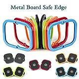 1 Paar New Freeline Skateboard Driftboard Skate Zubeh_r Silikon-Abdeckung Kantenschutz