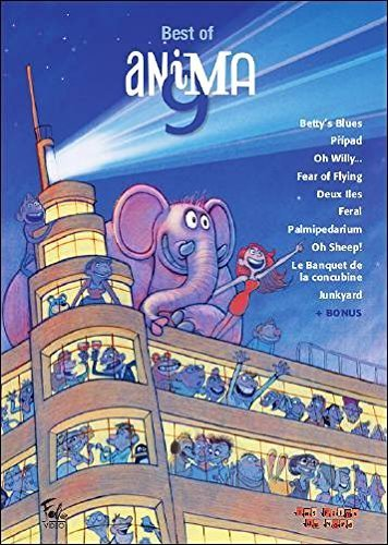 Preisvergleich Produktbild Best of Animation 9 (10 Films) ( Betty's Blues / The Case (Pripad) / Oh Willy... / Fear of Flying / Two Islands (Deux îles) / Feral / Palmipédarium / Oh [ NON-USA FORMAT,  PAL,  Reg.0 Import - France ] by Rémi Vandenitte