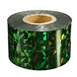 Bluelover 1Roll Ongles Transfert Feuilles Autocollants Stickers Pour Ongles Art Décoration Bricolage Outils-Argent