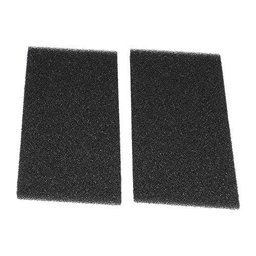2 Schaumstoff Filter für Bauknecht Whirlpool Wärmetauscher Trockner 481010354757 - Whirlpool Trockner Lager