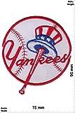 Patch - New York Yankees - USA Major-League-Baseball-Team - USA - Sport USA - Sport USA - New York Yankees - Aufnäher - zum aufbügeln - Iron On
