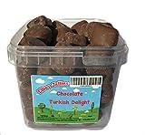 Ellies Jellies® Chocolate Turkish Delight 800g Square Tub