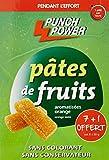 Punch Power Pâtes de Fruits Arôme Orange Boîtes de 8 Pâtes 30 g