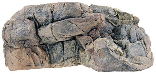 Acuami afloramientos rocosos para terrarios - Meseta de Pared para Reptiles y Anfibios - Accesorios y decoración en Aspecto de Piedra - M