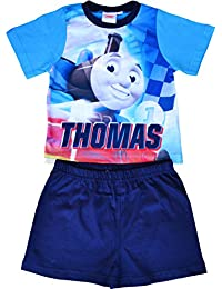 Boys Thomas Tank and Friends Short Pyjamas Size 18 Months to 5 Years