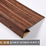 Die besten Kaufen Flachbild-Fernseher - YUELA 3D Wand Selbstklebende Tapete Tv Wand Wohnzimmer Bewertungen