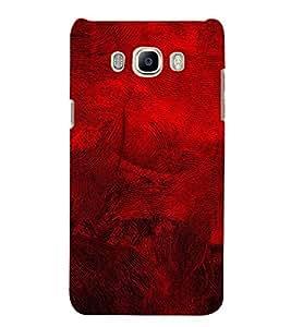 FUSON Red Acrylic Painted Background 3D Hard Polycarbonate Designer Back Case Cover for Samsung Galaxy J7 (6) 2016 :: Samsung Galaxy J7 2016 Duos :: Samsung Galaxy J7 2016 J710F J710Fn J710M J710H