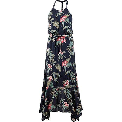 LA LEELA Robe de Plage pour Femmes V-Cou Rayonne Bikini Cache-Maillots Grande Taille Coton Pom Pom m/élang/é Dentelle Chemise Robe Kimono Cover Up Maillot de Bain