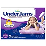 Pampers UnderJams Absorbent Nightwear Size 7, Big Pack Girl (92 Count) by Pampers