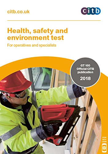 Health, safety and environment test for operatives and specialists 2018: GT100/18 (Gt100/18dvd)