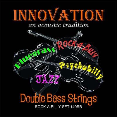 Innovation Kontrabass Saiten Stärke Medium Tension Rockabilly - Set - 90140RB