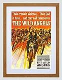 FILM MOVIE WILD ANGELS MOTORCYCLE GANG FONDA SINATRA FRAMED ART PRINT B12X6802