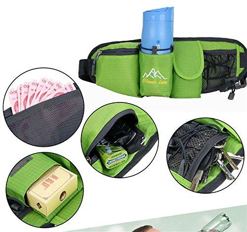 5 All Sling-Rucksack Sling Bag Chest Pack Taschen HANDY Tasche Outdoor Sports Camouflage Trekkingrucksack als Radfahr Jogging-Rucksack Kettle Paket Pink B