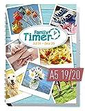 Family-Timer 2019/2020 - Der Familien-Planer! 18 Monate Juli 2019 - Dezember 2020, Familienkalender für bis zu 4 Personen + viele hilfreiche Features - Häfft