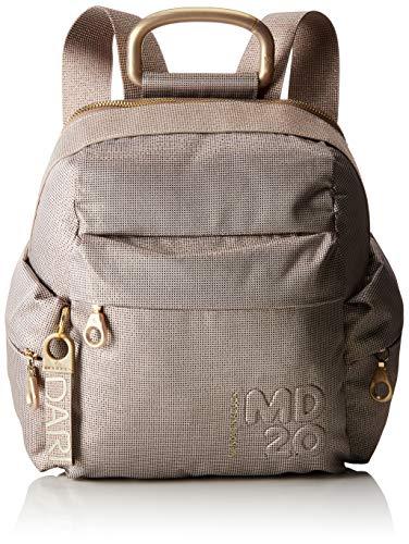 Mandarina Duck P10QNTT1 - Bolso mochila de Sinttico Mujer, color Gris, talla 14x26x24 cm (B x H x