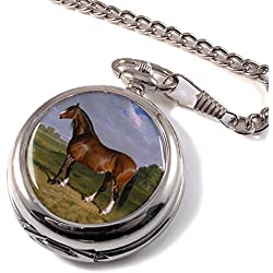 A Clydesdale Stallion by Herring Full Hunter Pocket Watch