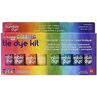 SEI Tumble Dye Craft and Fabric Tie-Dye Kit 2 Oz 8 kg-Assorted