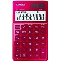 CASIO SL-1000TW-RD calcolatrice tascabile - Display a 10 cifre, struttura in metallo di colore rosso - Confronta prezzi