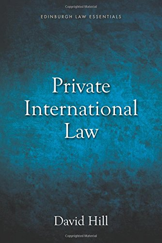Private International Law Essentials (Edinburgh Law Essentials)